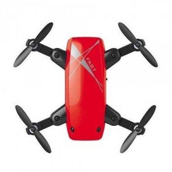 Квадрокоптер Aircraft S9 Mini Red – ударостійкий міні-дрон з Wi-Fi камерою, FPV (k313)