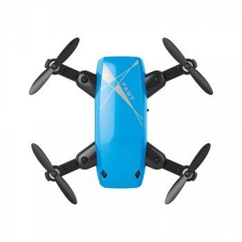 Квадрокоптер Aircraft S9 Mini Blue – ударостійкий міні-дрон з Wi-Fi камерою, FPV (k312)