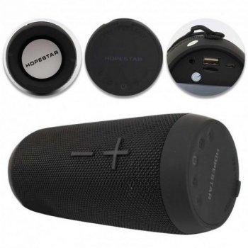 Портативна акустична колонка Bluetooth з вологозахистом Hopestar P7 Чорна (zhb0319)