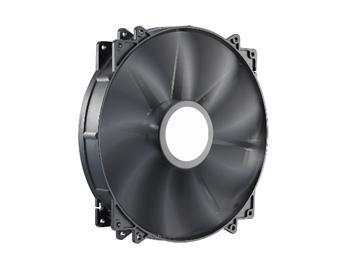 Вентилятор coolermaster MegaFlow 200 Silent (R4-MFJR-07FK-R1), 200х200х30 мм, 3pin, чорний
