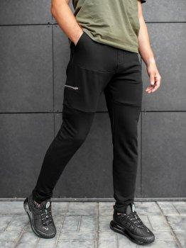 Спортивные штаны BEZET Zipper black'20