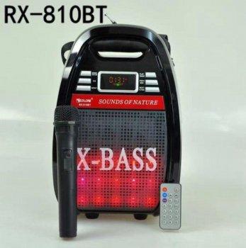 Радиоприемник беспроводной GOLON RX-810BT портативный аккустический Black