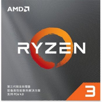 Процесор AMD Ryzen 3 3100 (3.6 GHz 16MB 65W AM4) Box (100-100000284BOX)