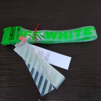 Ремень Jsstore Clear Зеленый Прозрачный 160 см