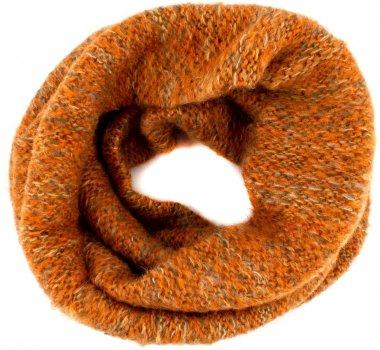 Снуд SumWin Меланж 170602-15 Оранжевый