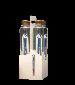 Вода артезианская питьевая негазированная щелочная с Меланином 0.5 л ТМ Украиночка антиоксидант