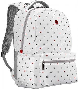 """Рюкзак для ноутбука Wenger Colleague 16"""" White Heart Print (610211)"""