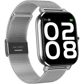 Смарт-годинник NO.1 DT35 Silver