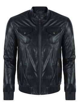 Кожаная куртка GIORGIO DI MARE Черный (GI705101)