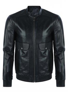Кожаная куртка GIORGIO DI MARE Черный (GI7597853)