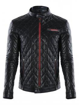 Кожаная куртка GIORGIO DI MARE Черный (GI3082205)