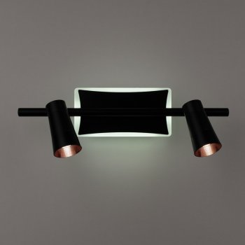 Бра 4light 8443/2 Black LED 14W