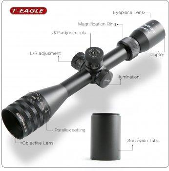 Оптичний приціл T-EAGLE EO 3-9х40 AOE KN (EO3-9X40AOE-KN)