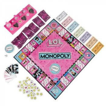 Настільна гра Hasbro Монополія ЛОЛ Сюрприз (англ) (E7572)