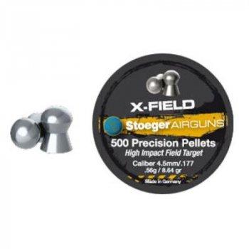 Кульки Stoeger X-Hunter Point 4.5 мм/177 0.56 g (500шт.) (92144500005S)