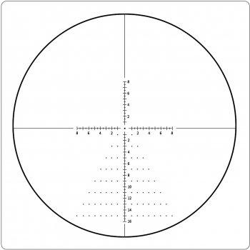 Оптический прицел T-EAGLE ER 1-6х24 IR (ER1-6X24IR)