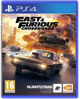 Игра Fast and Furious Crossroads для PS4 (Blu-ray диск, Russian subtitles)