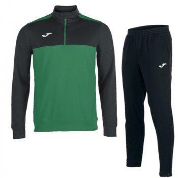 Спортивный костюм JOMA WINNER черно-зеленый 100947.401_100165.100