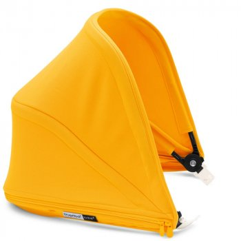 Прогулянкова коляска Bugaboo Bee 5 Sunrise yellow/ Grey melange/ Black (500227SY01/500230GM01/500200ZW02)