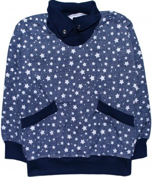 Свитшот Малыш Style ДЖ-13 Темно-синий