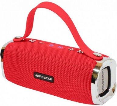 Бездротова колонка HOPESTAR H24 Pro Версія Bluetooth USB Red