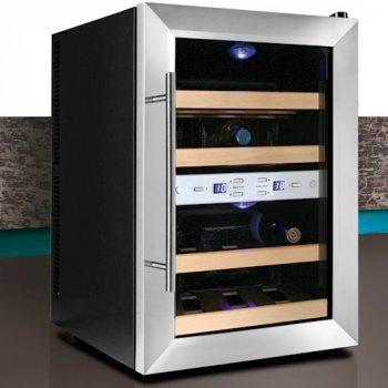 Винный шкаф холодильник CASO WineDuett 12