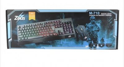 Клавіатура Led Gaming KeyBoard Mouse M 710 (4958)