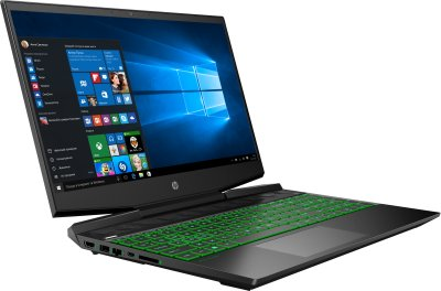 Ноутбук HP Pavilion Gaming 15-dk1012ur (10B20EA) Dark Grey