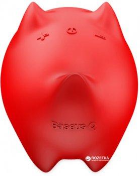 Портативна колонка Baseus Dogz Wireless Speaker E06 Red