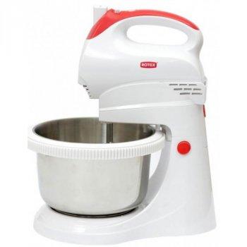Кухонний ручний міксер з чашею ROTEX RHM300K Білий