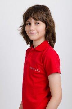 Поло ANDRE TAN Kids K40052 Красное