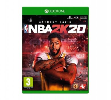 NBA 2K20 XBox One (английская версия) (Microsoft XBOX, Английская версия)