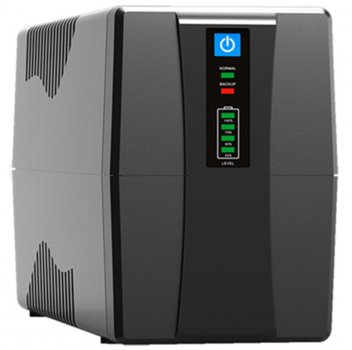 ИБП FrimeCom VP-1200, Line Int., AVR, 3 x евро, LED, металл