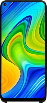 Панель Intaleo Velvet для Xiaomi Redmi Note 9 Black (1283126504792)