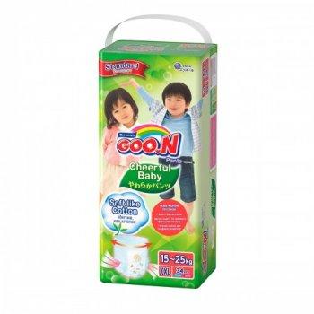 Трусики-подгузники Cheerful Baby для детей (XXL, 15-25 кг, унисекс, 34 шт) (843287)