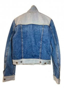 Куртка джинсова жіноча Mustang Сірий з блакитним