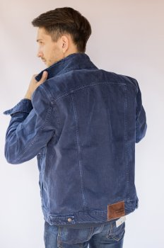 Куртка джинсова чоловіча Mustang Індиго