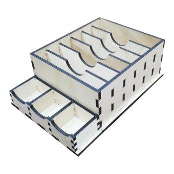 Коробка Каса з відділеннями для дріб'язку ecoToy 27х19х9 см (111101)