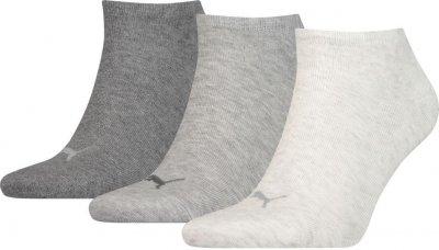 Набір шкарпеток Puma Puma Unisex Sneaker Plain 3p 261080001-002 3 пари Сірий М