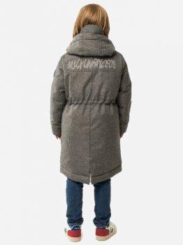 Зимння куртка-парка Milhan 528 Серый меланж