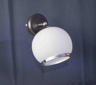 Бра настінне на 1 лампочку Handmade P3 - 01615c-1W (BKCRWT) Поворотний плафон