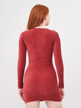 Платье Pull & Bear 5390/329/605 Бордовое
