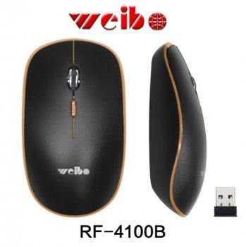 Бездротова миша Weibo RF-4100B Коричневий