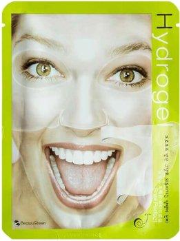 Маска для лица BeauuGreen Snail Perfect Hydrogel Mask Гидрогелевая с фильтратом секреции улитки 28 г (8809389033157)
