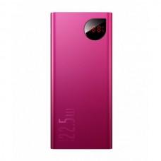 Зовнішній акумулятор Power Bank Baseus Metal 20000mAh 22,5 W Red (PB-0014)