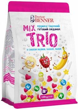 Упаковка готовых завтраков Doctor Benner Трио микс 150 г х 4 шт (4820132581248)