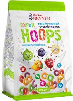 Упаковка готовых завтраков Doctor Benner Колор Хупс 150 г х 4 шт (20132581569)