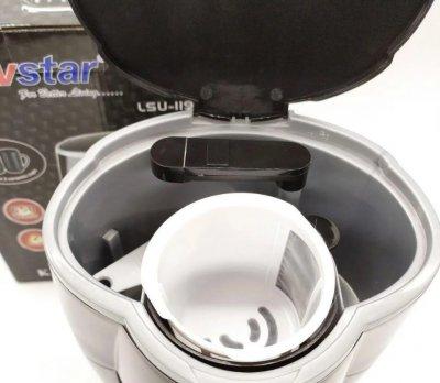 Капельная кофеварка в комплекте две керамические жаропрочные чашки Livstar LSU-1190 черная