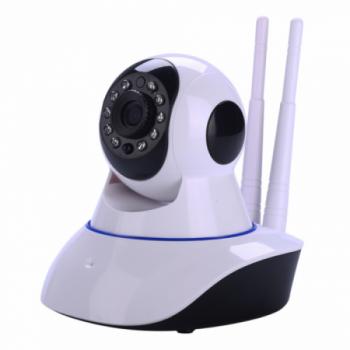 IP-Камера видеонаблюдения Wi-Fi панорамная с поворотным механизмом 360 градусов, ночной съемкой