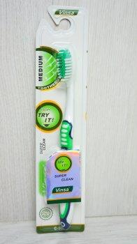 Зубная щетка VC-126774 Белый+ Зеленый